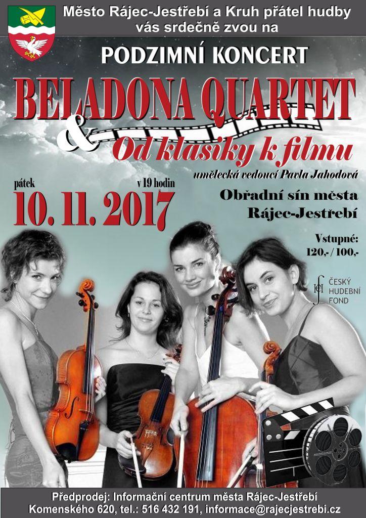 Beladona Quartet & Od klasiky k filmu  1