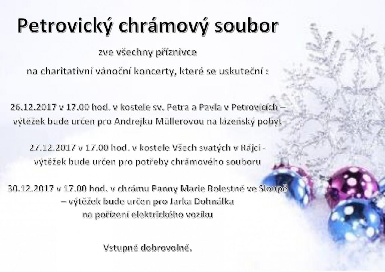 Charitativní vánoční koncerty  1