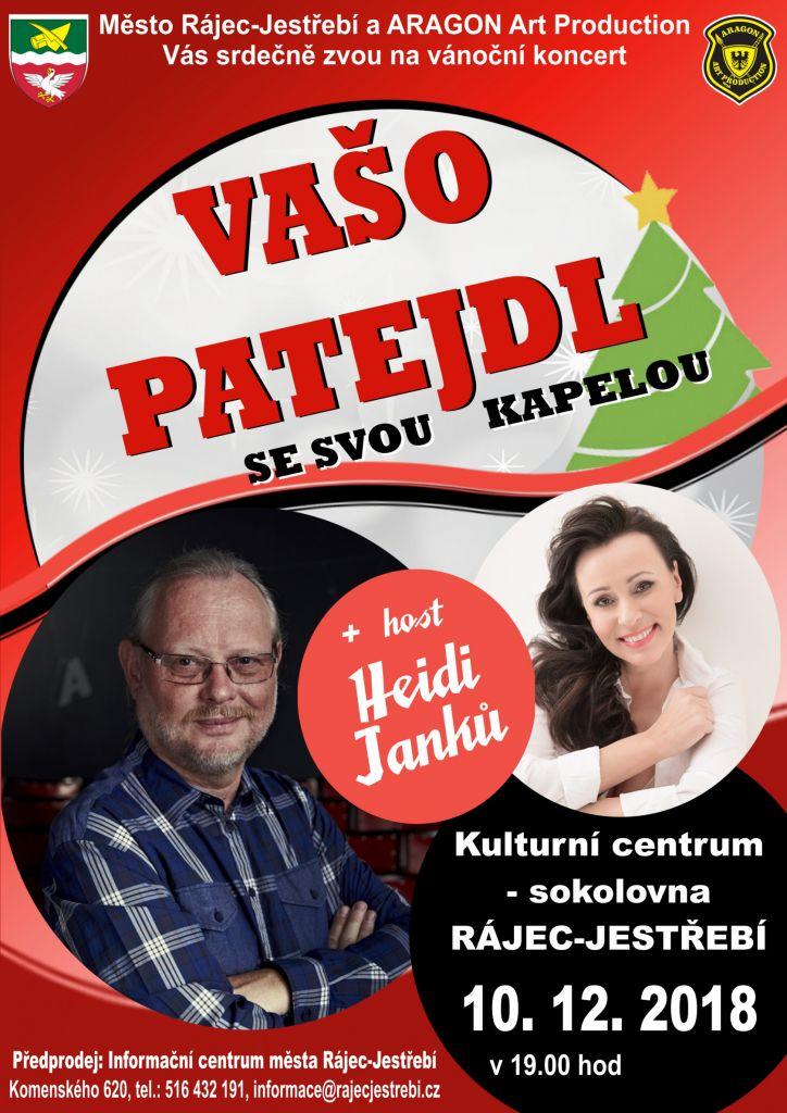 Vánoční koncert  - VAŠO PATEJDL  + Heidi Janků 1