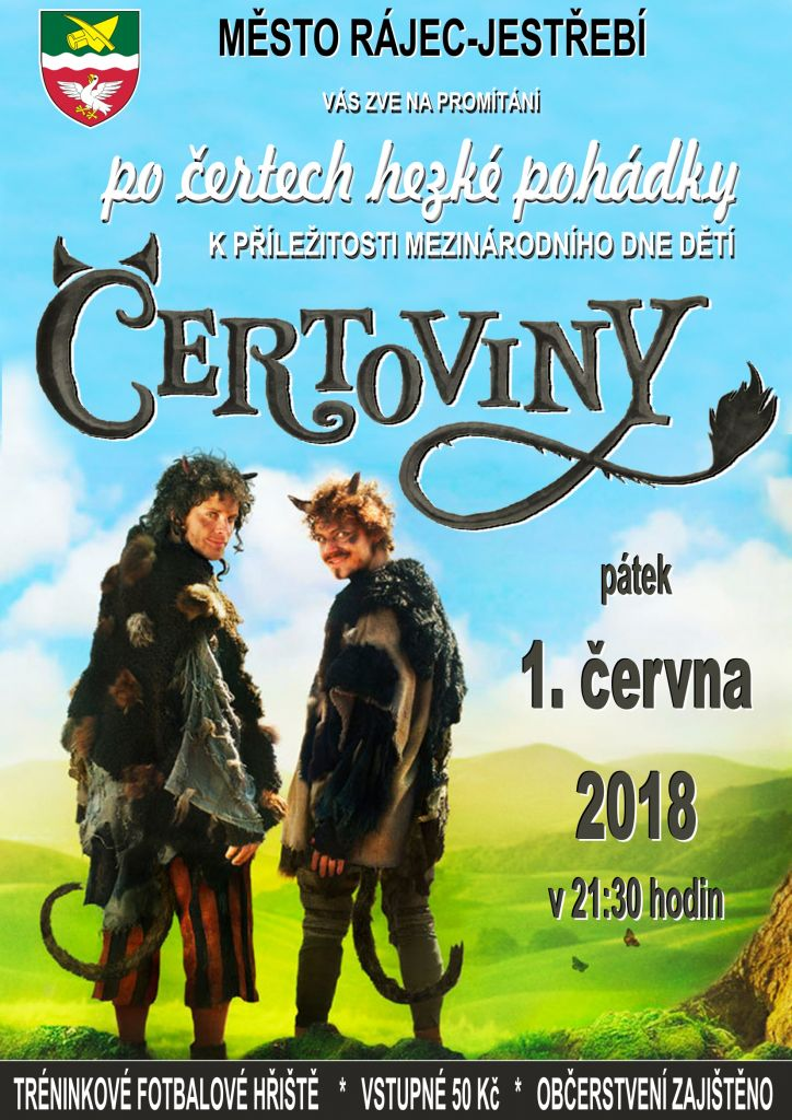Letní kino - ČERTOVINY  1