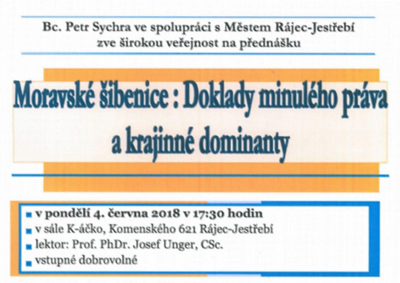 Moravské šibenice : Doklady minulého práva a krajinné dominanty 1