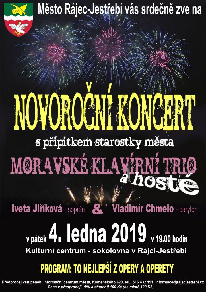 Novoroční koncert s přípitkem starostky  1