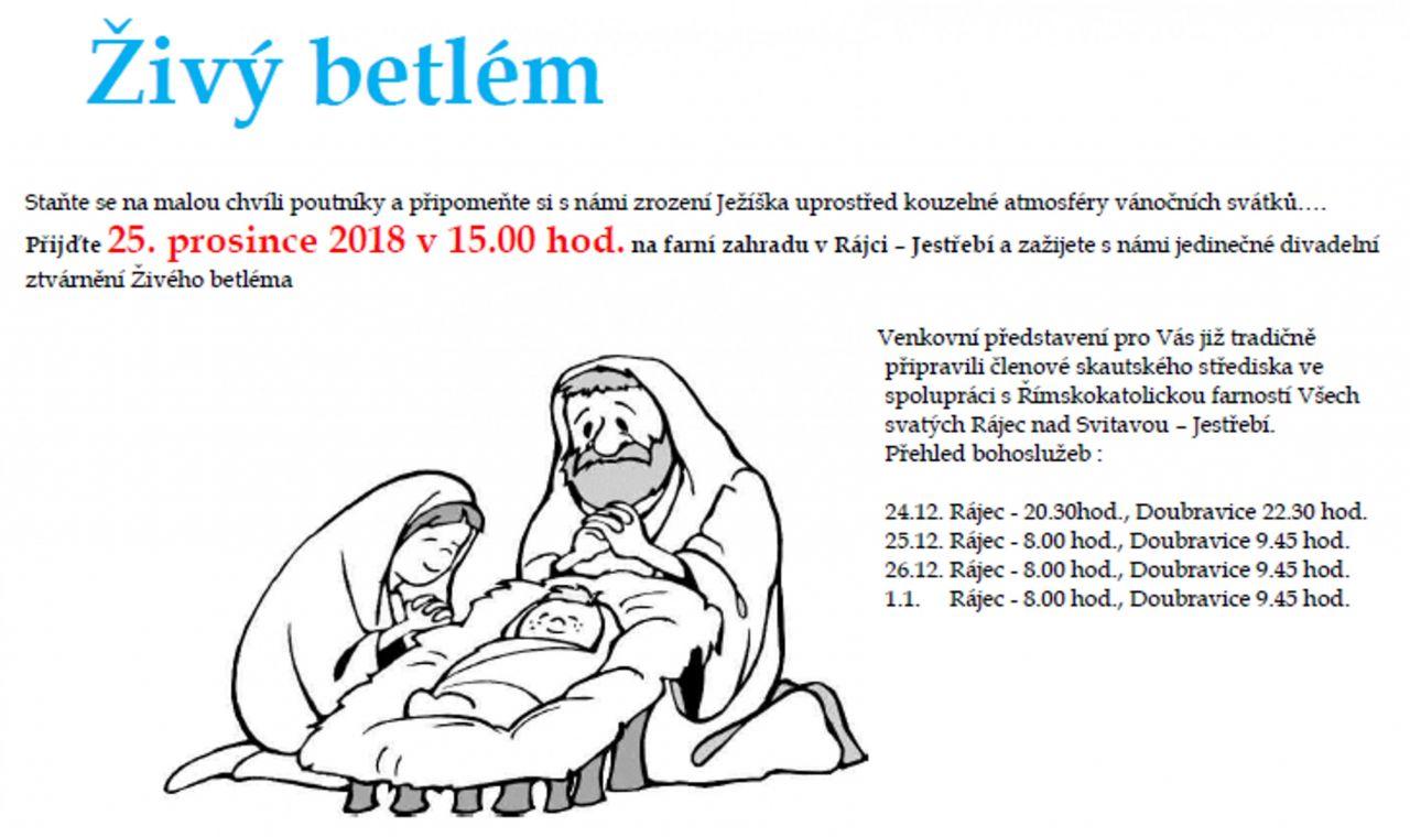 Živý Betlém  1
