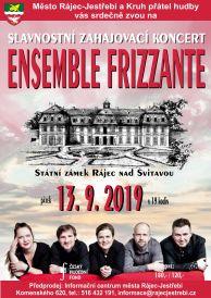 Slavnostní zahajovací koncert ENSEMBLE FRIZZANTE 2