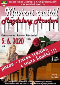 Klavírní recitál Magdaleny Hrudové  2